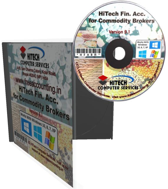 Commodity Brokers Accounting Software CD Case